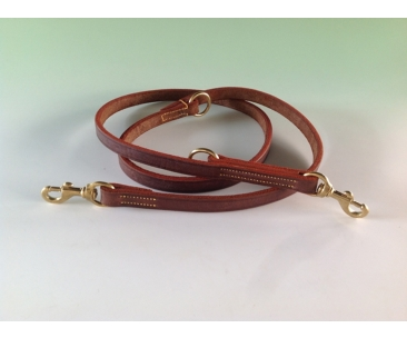 Genuine Asian Buffalo Hide Double Training Lead